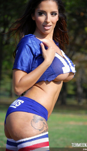New York Giants Cheerleader